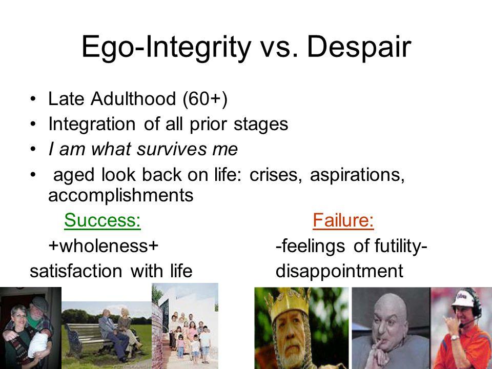 Ego-Integrity vs. Despair