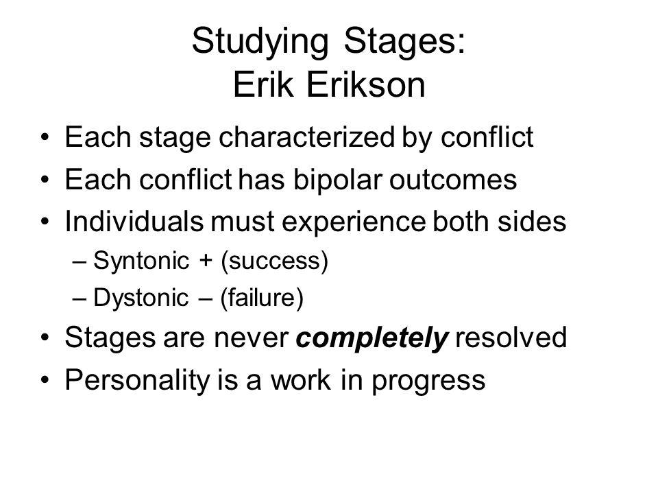 Studying Stages: Erik Erikson