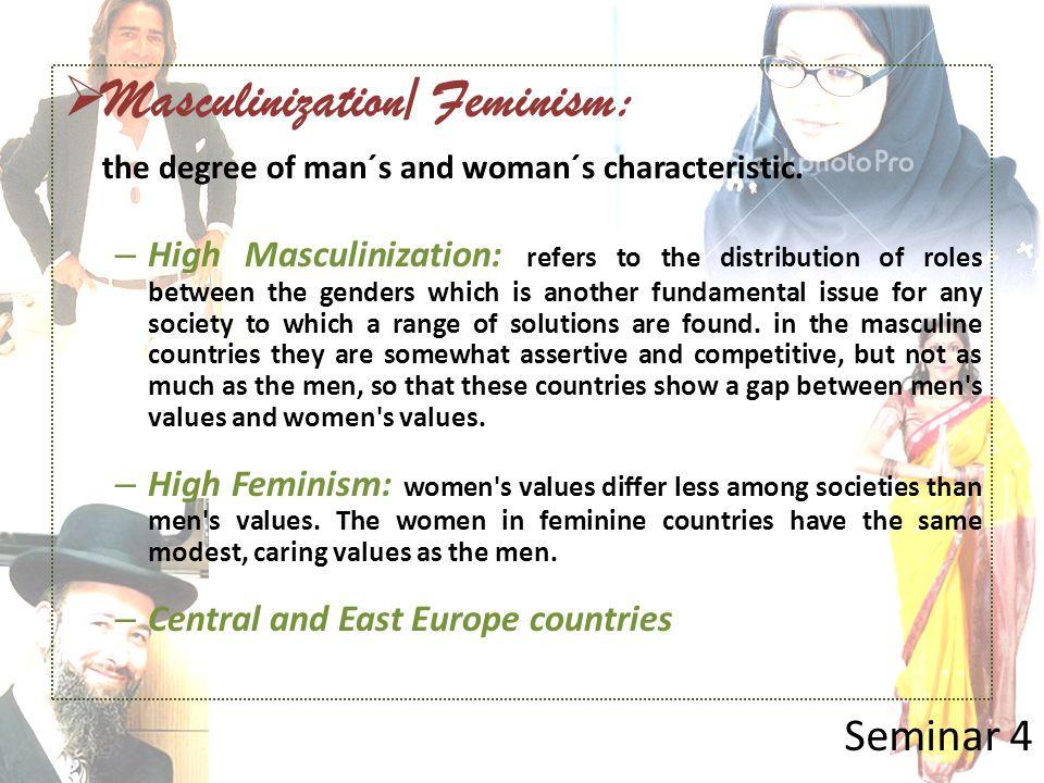 Masculinization/ Feminism: