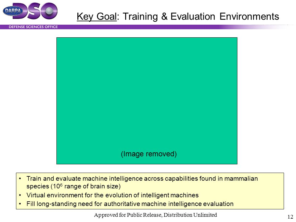 Key Goal: Training & Evaluation Environments