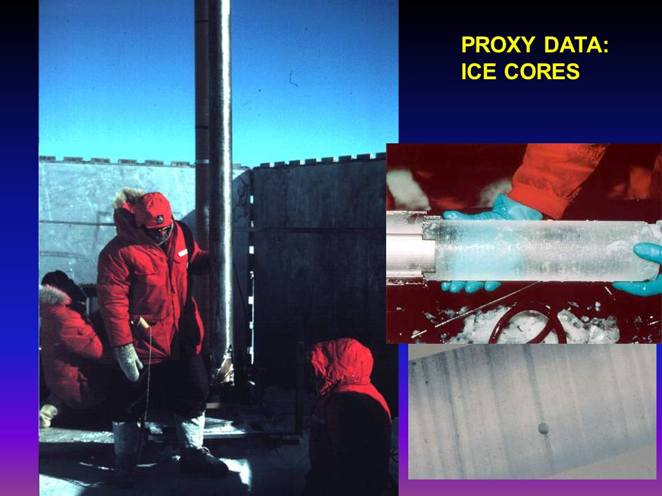 PROXY DATA: ICE CORES