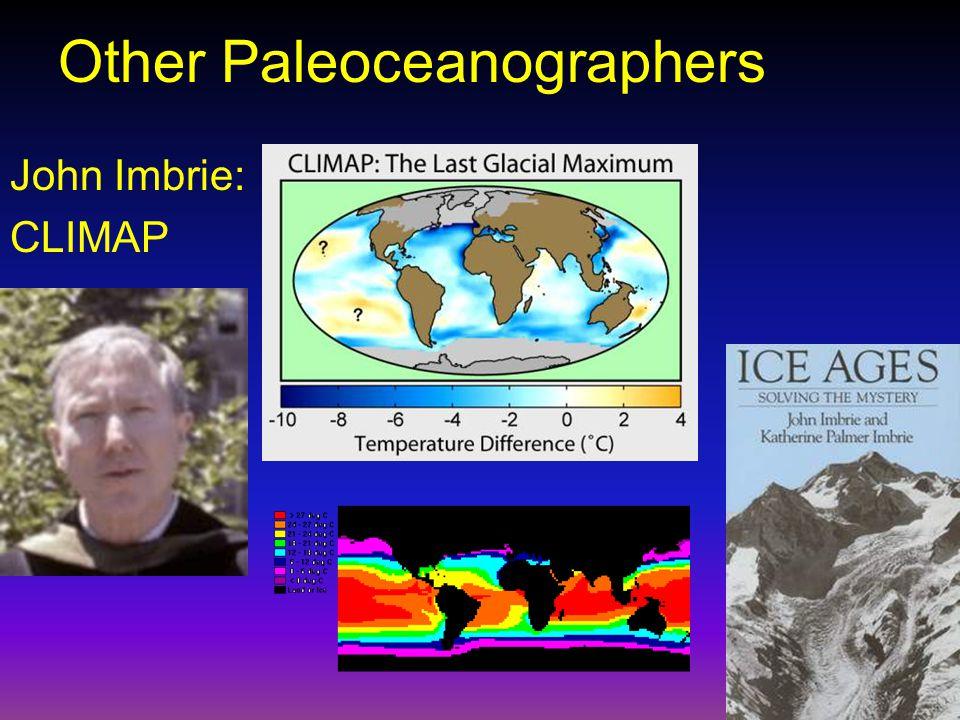 Other Paleoceanographers