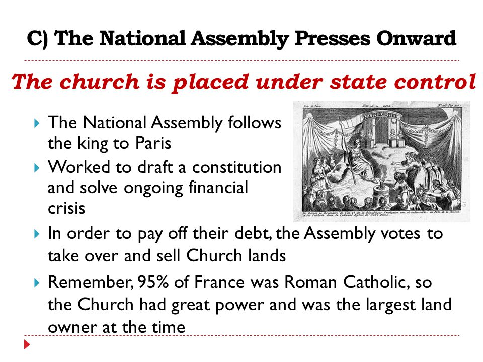 C) The National Assembly Presses Onward