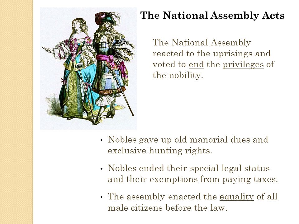 The National Assembly Acts