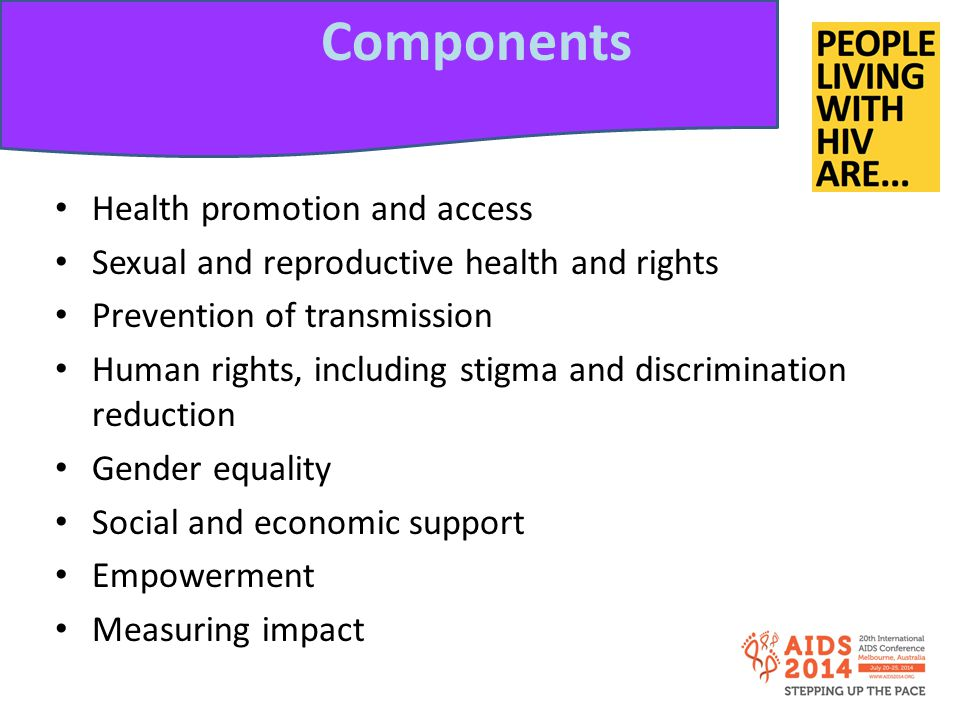 Components Health promotion and access