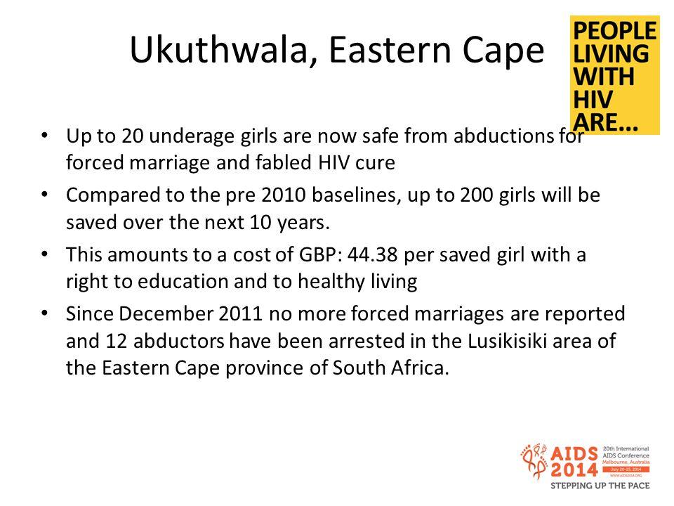 Ukuthwala, Eastern Cape