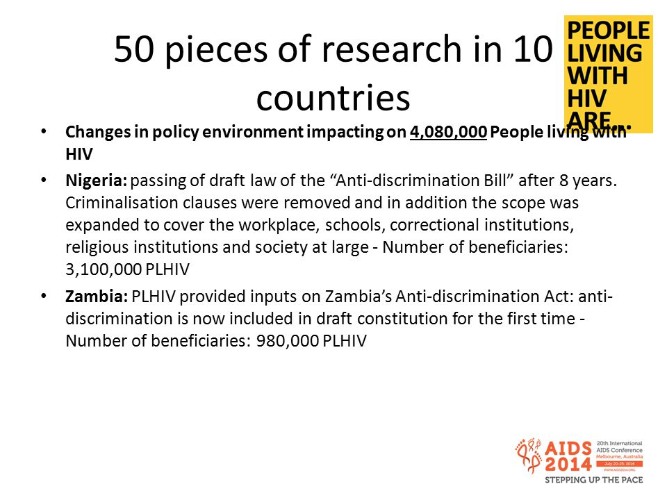 50 pieces of research in 10 countries