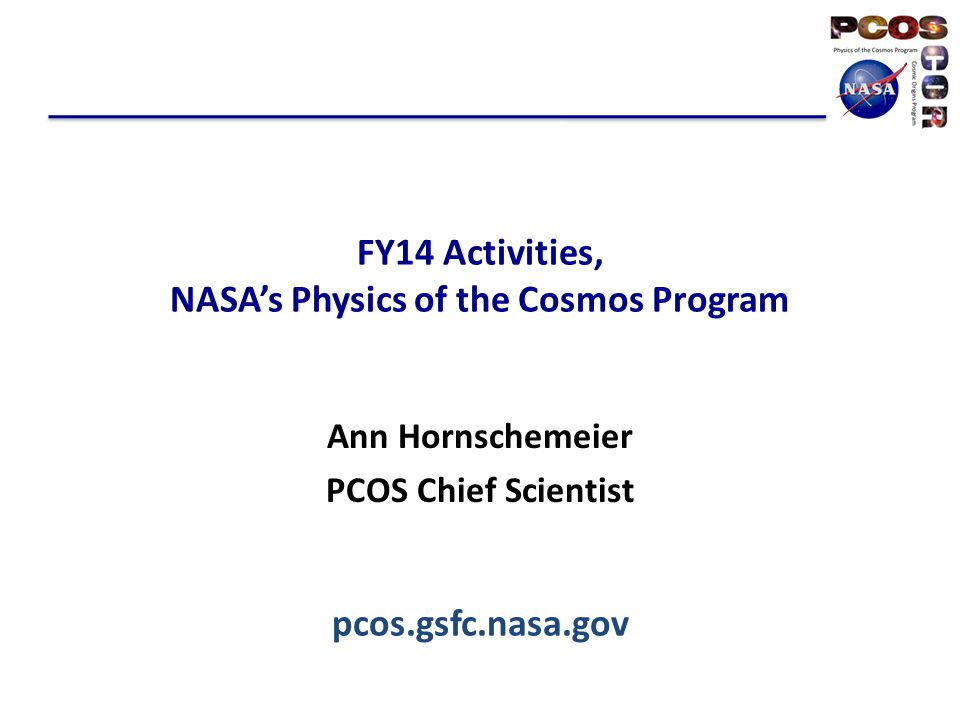 Physics of the Cosmos Science Objectives
