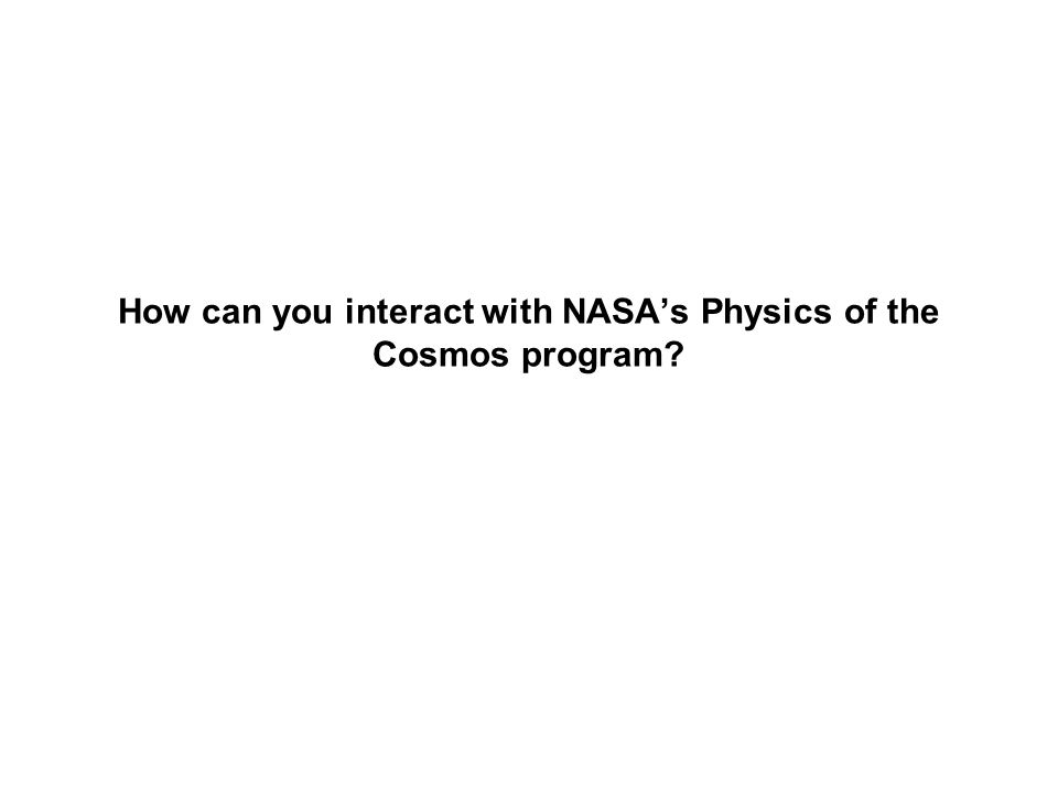 Communicating with NASA Astrophysics via the Program Analysis Groups (PAGs)