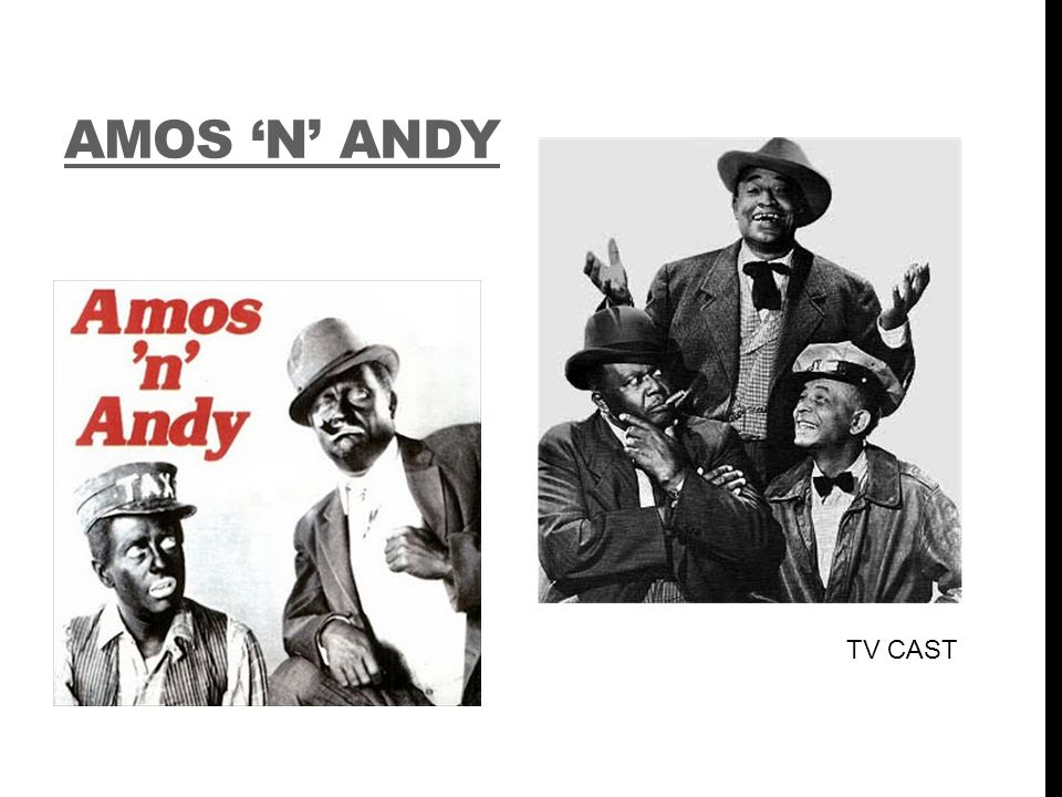 AMOS 'N' ANDY TV CAST