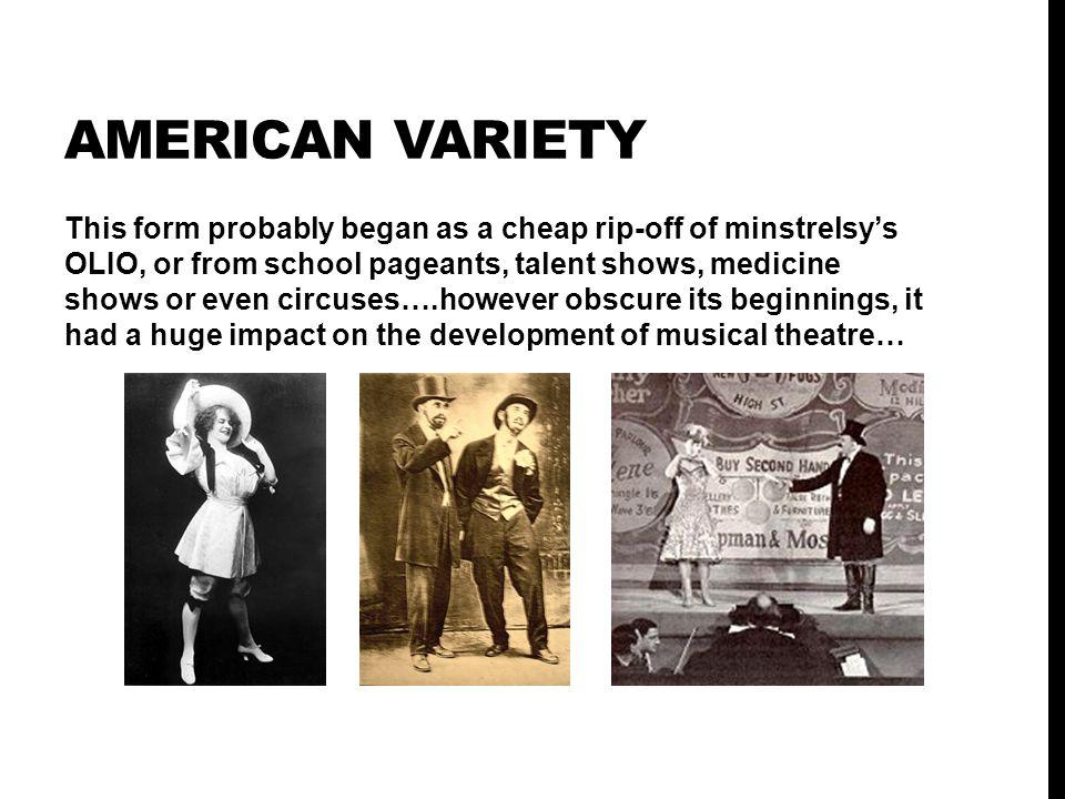 AMERICAN VARIETY