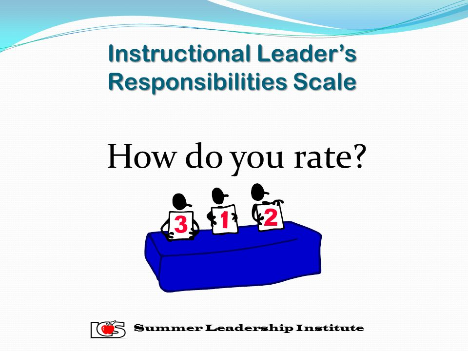 Instructional Leader's Responsibilities Scale