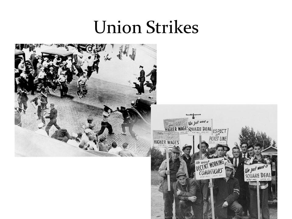 Union Strikes