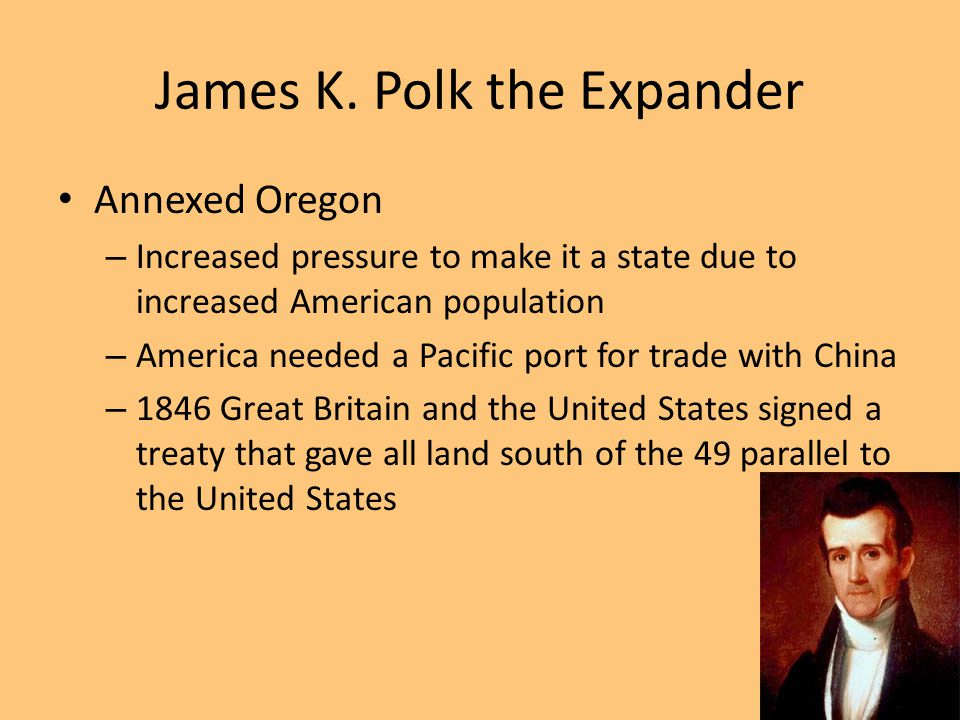James K. Polk the Expander