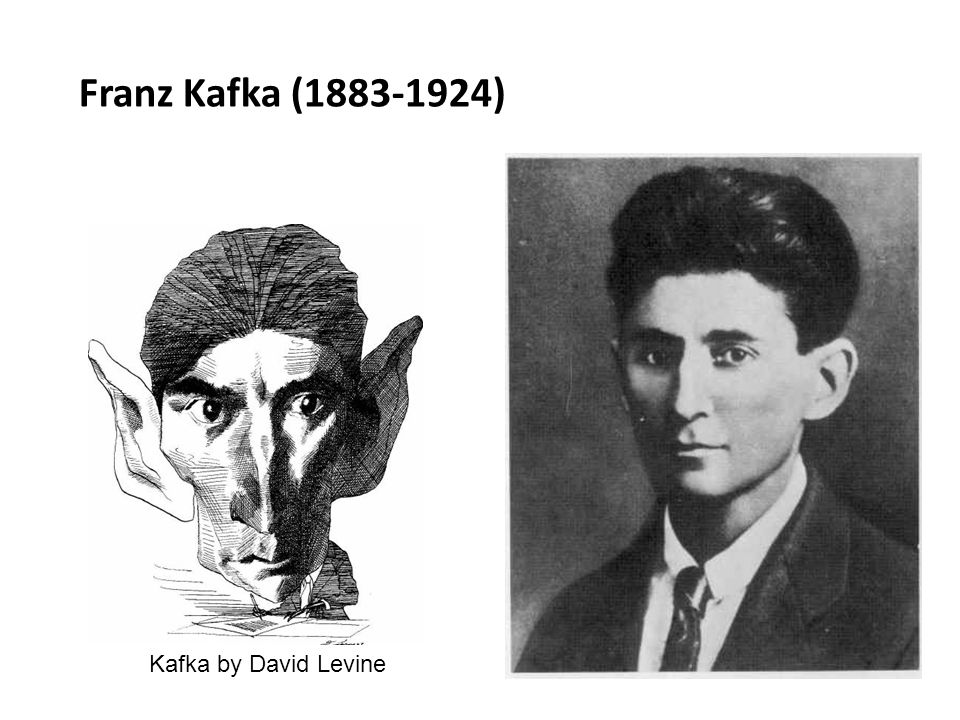 Franz Kafka (1883-1924) Kafka by David Levine