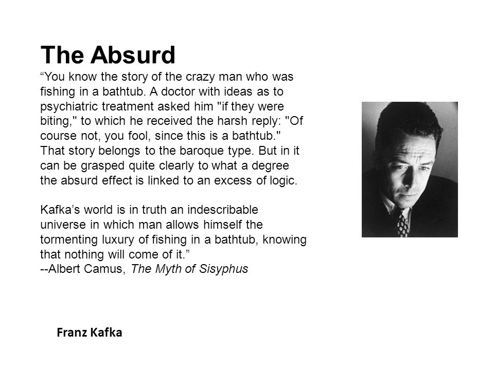 The Absurd