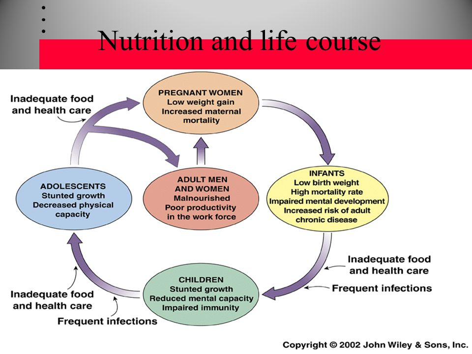 Nutrition and life course