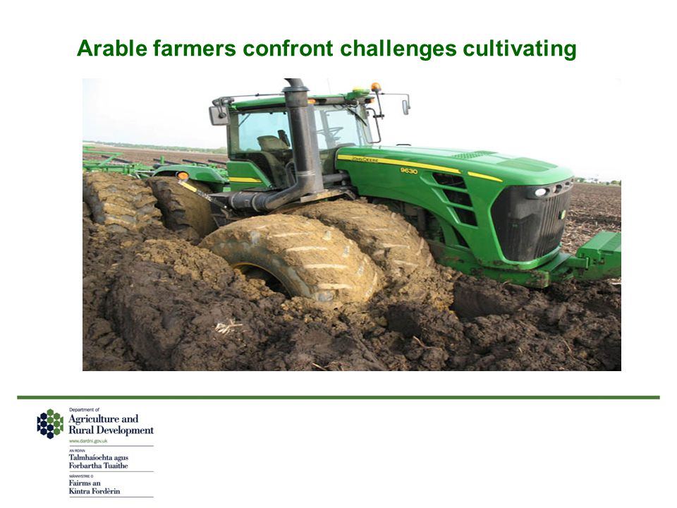 Arable farmers confront challenges cultivating