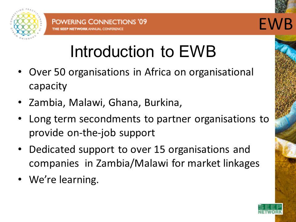 EWB Introduction to EWB