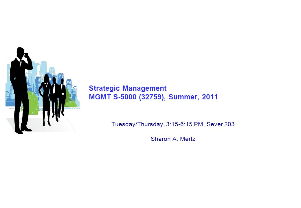 S-5000 – Strategic Management