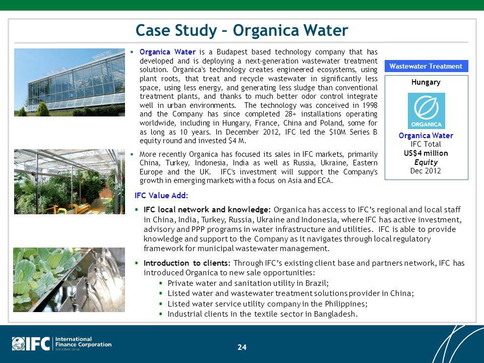 Case Study – Organica Water