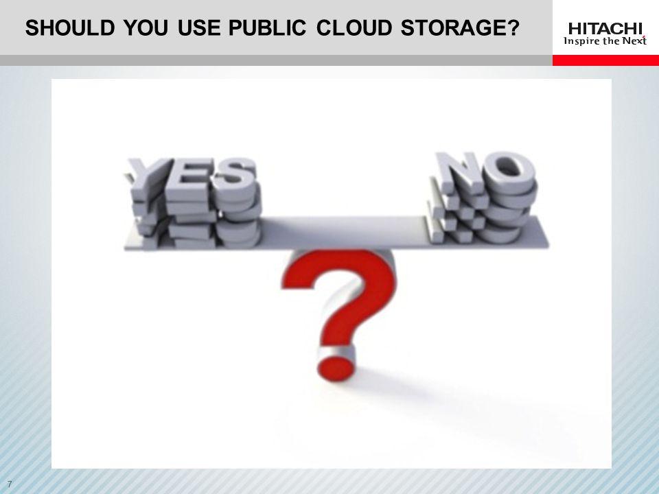 Should you use Public Cloud storage