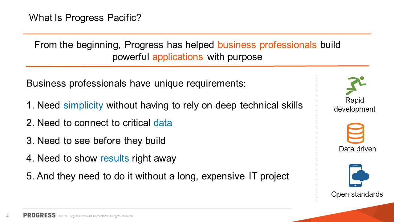 What Is Progress Pacific