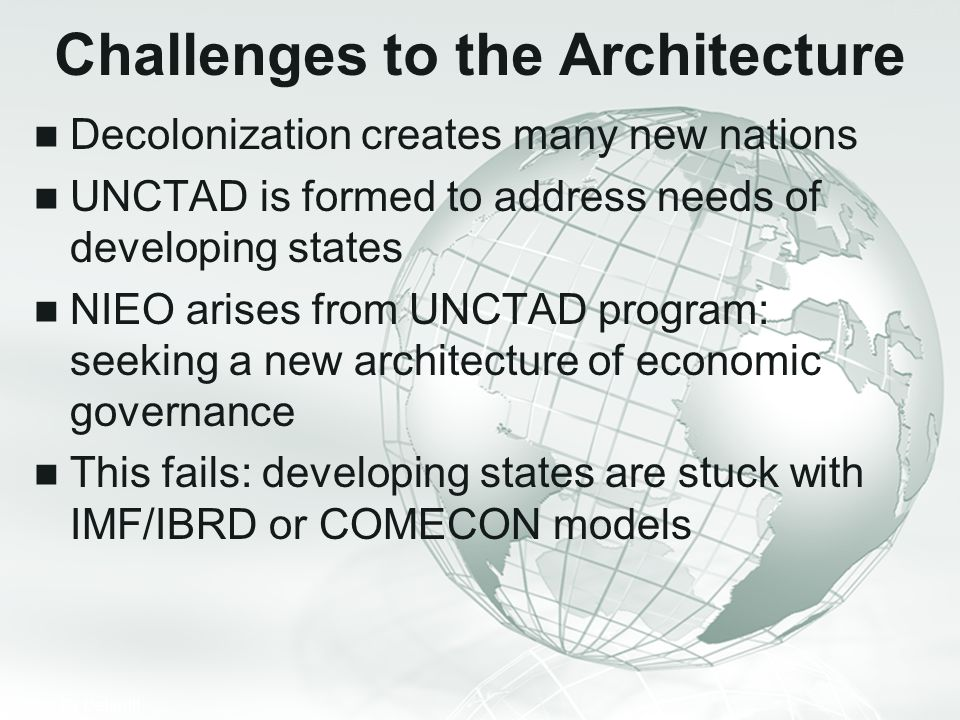 Challenges to the Architecture