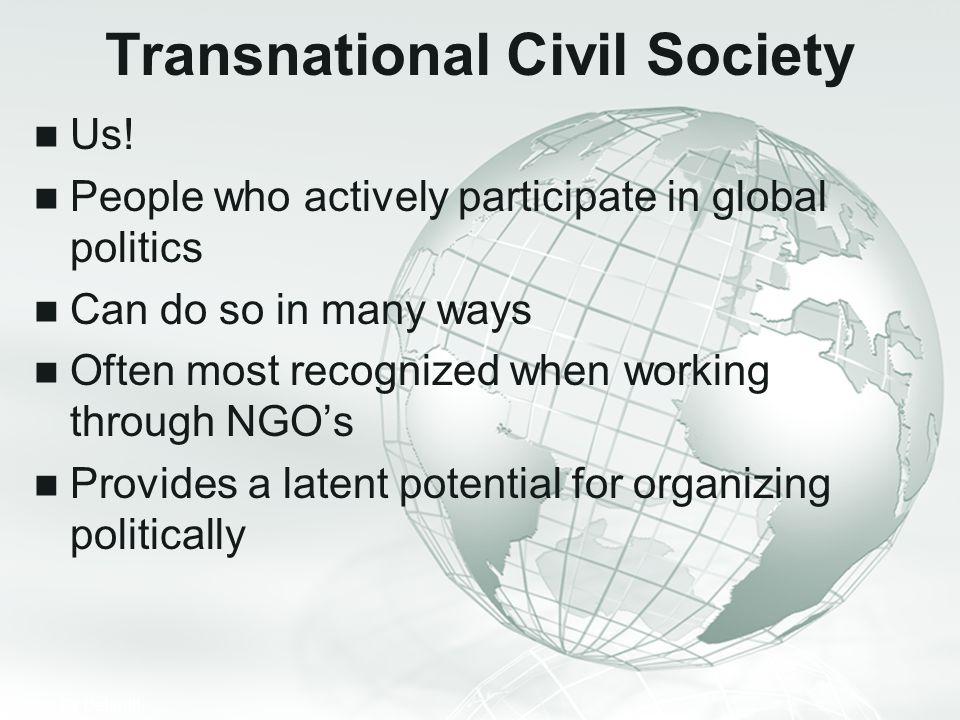 Transnational Civil Society
