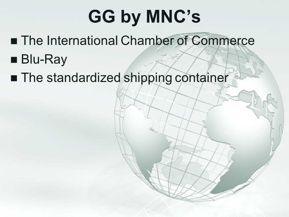 GG by MNC's The International Chamber of Commerce Blu-Ray