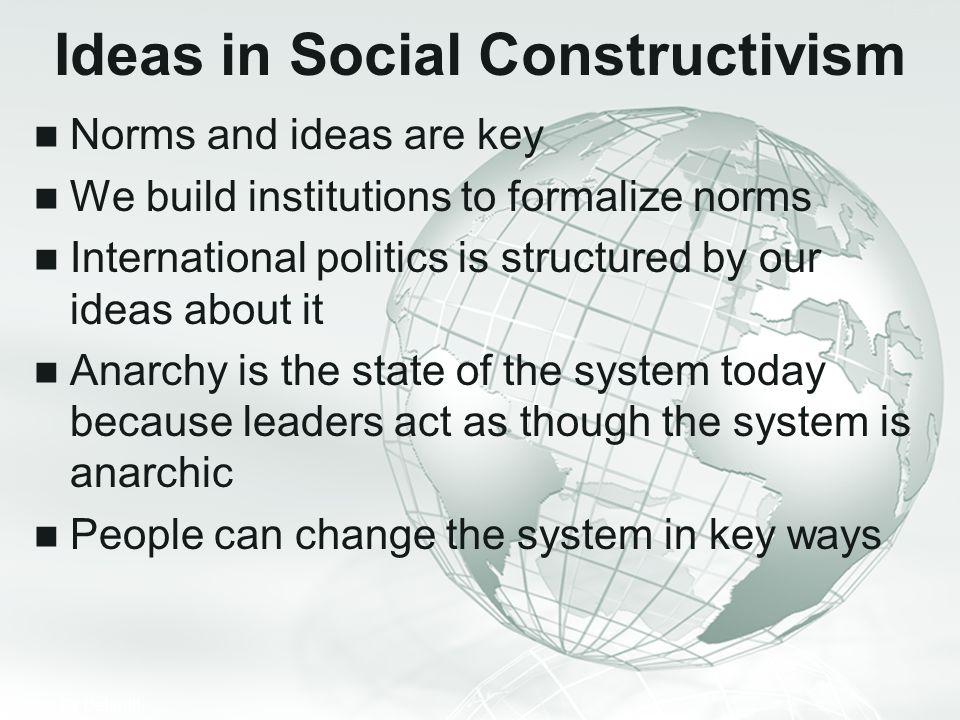 Ideas in Social Constructivism