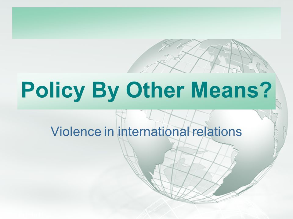 Violence in international relations