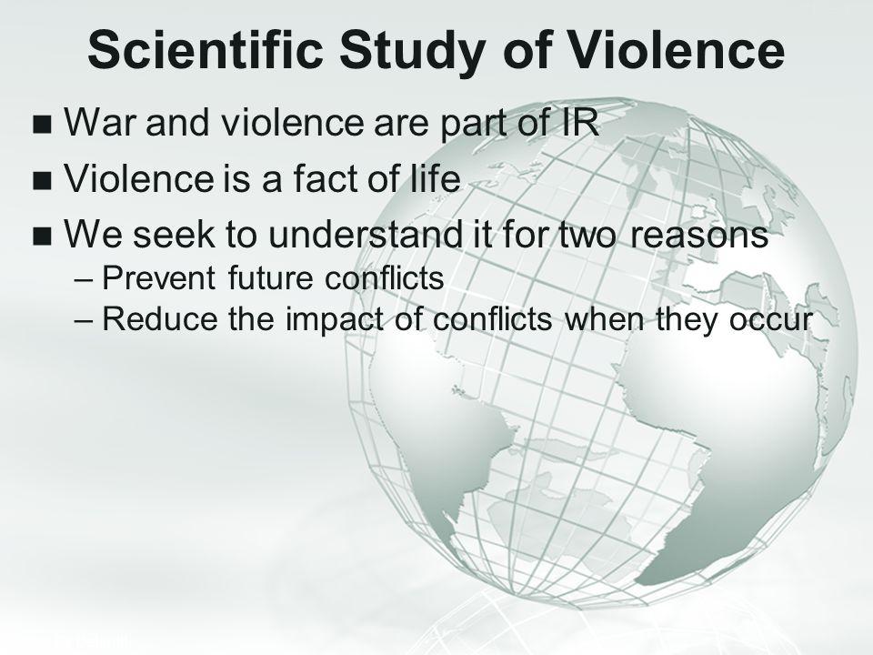 Scientific Study of Violence