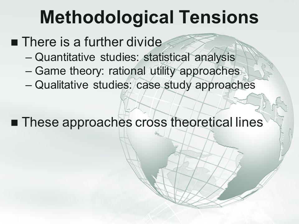 Methodological Tensions