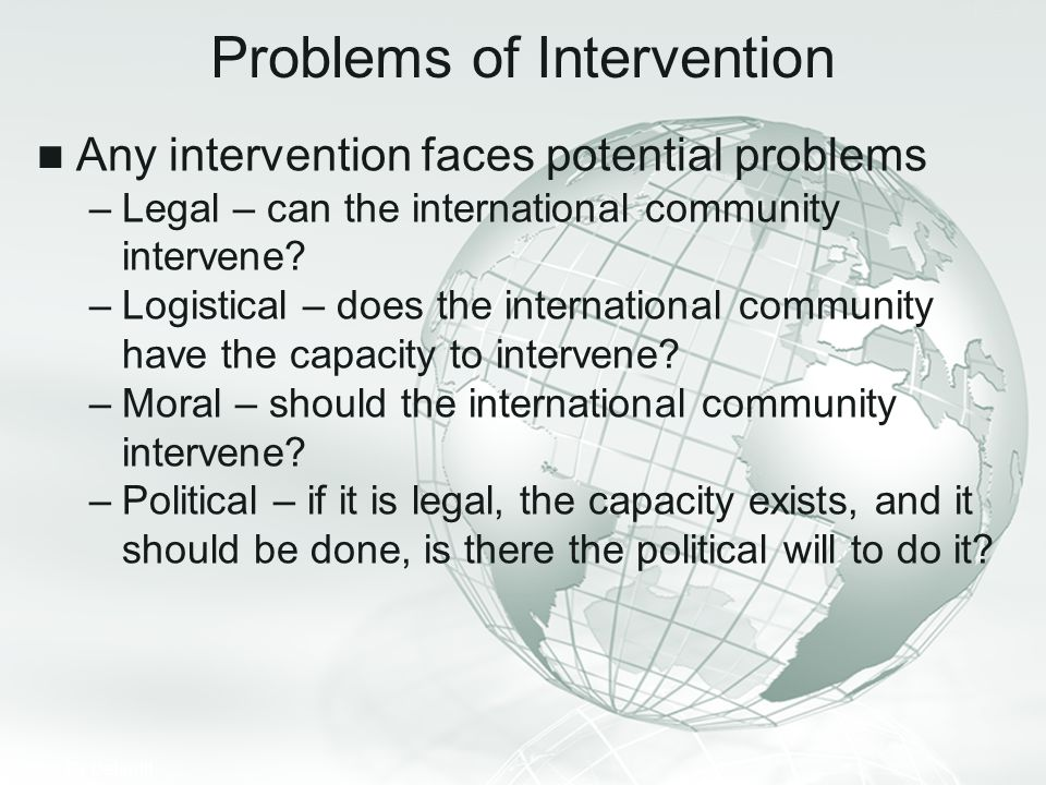 Problems of Intervention