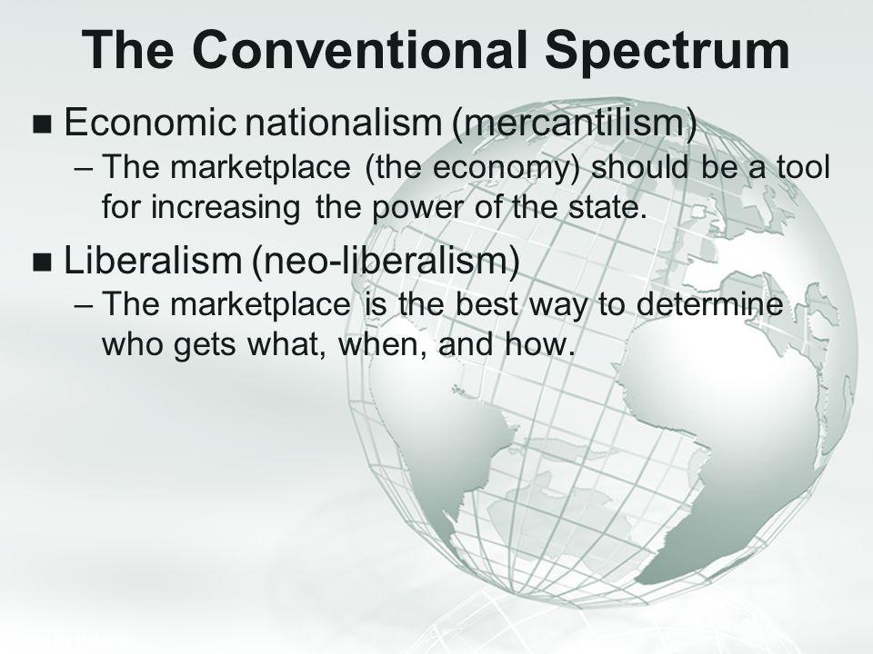 The Conventional Spectrum