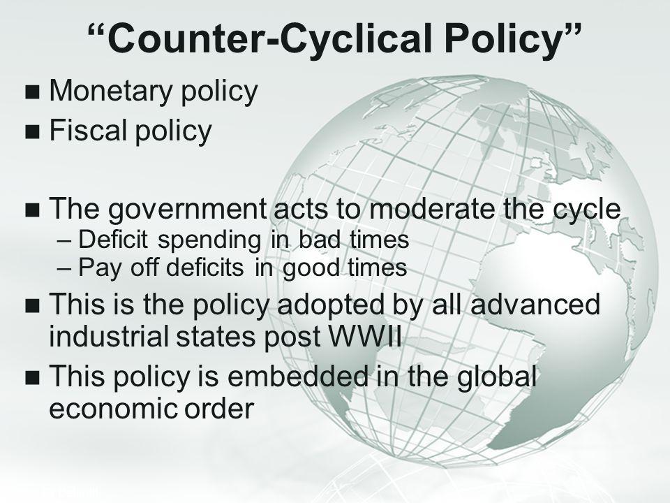 Counter-Cyclical Policy