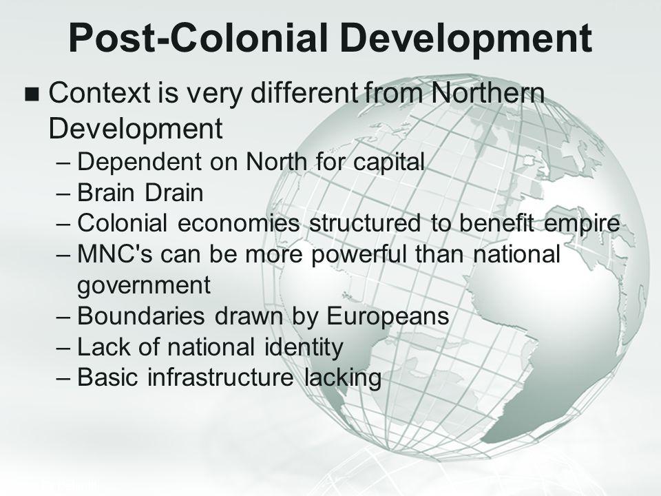 Post-Colonial Development