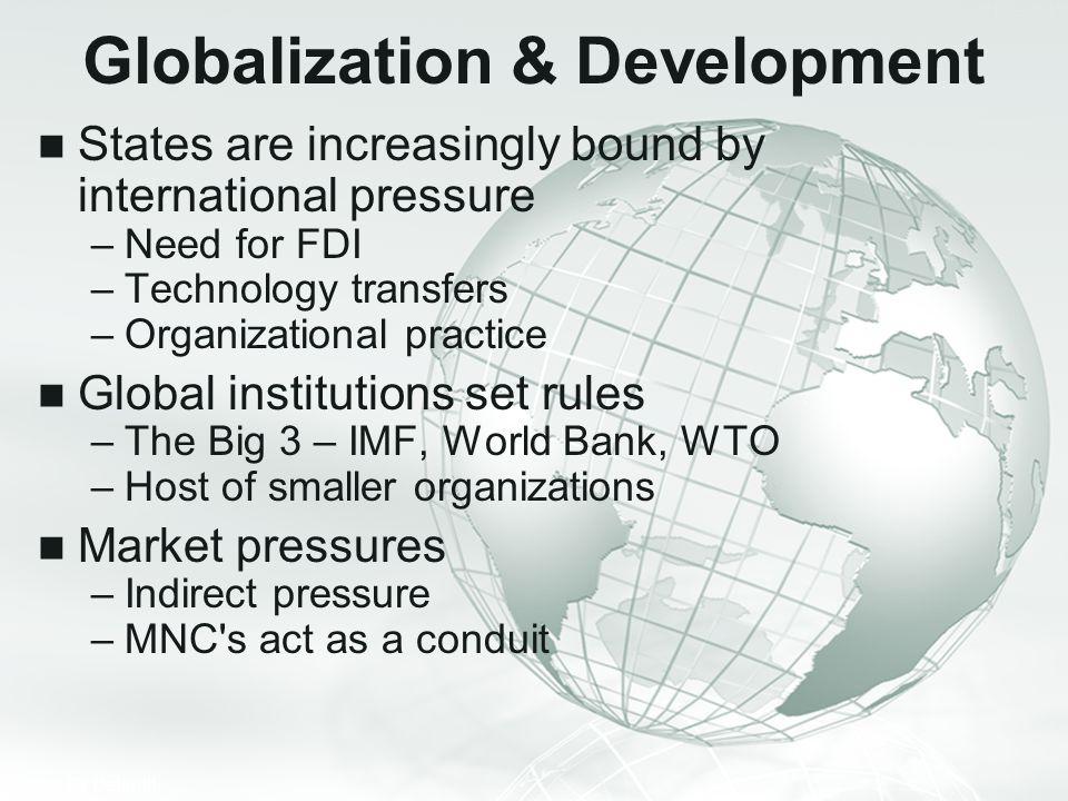 Globalization & Development