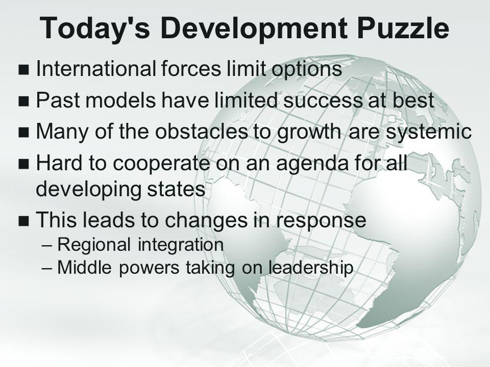 Today s Development Puzzle