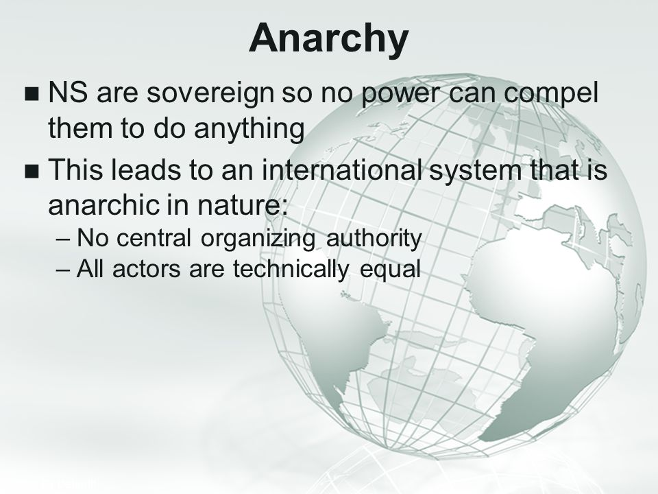 Anarchy NS are sovereign so no power can compel them to do anything