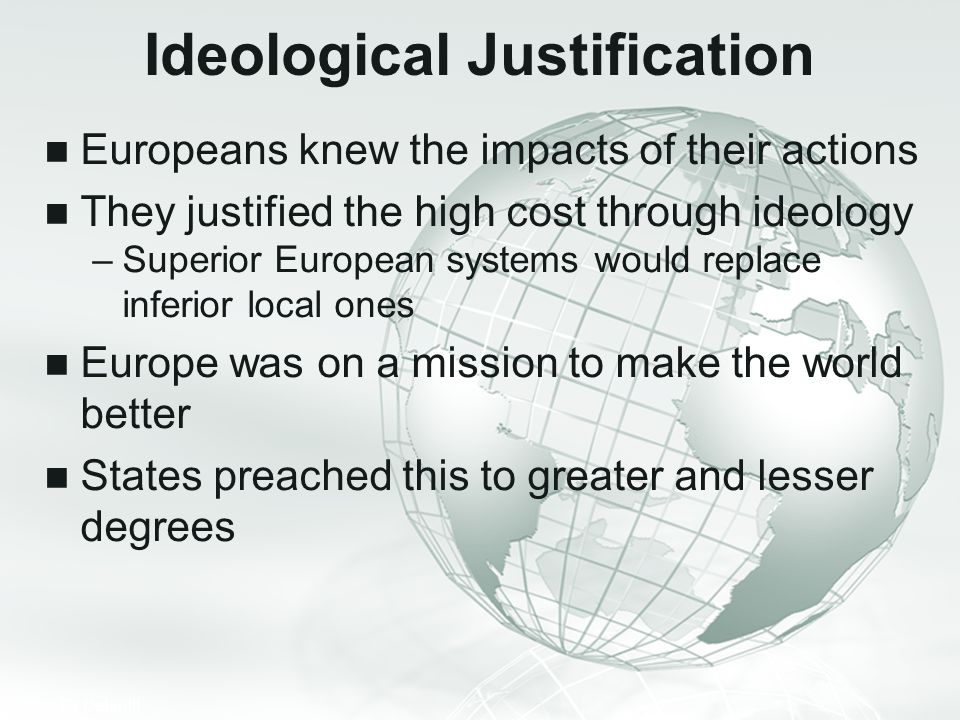 Ideological Justification