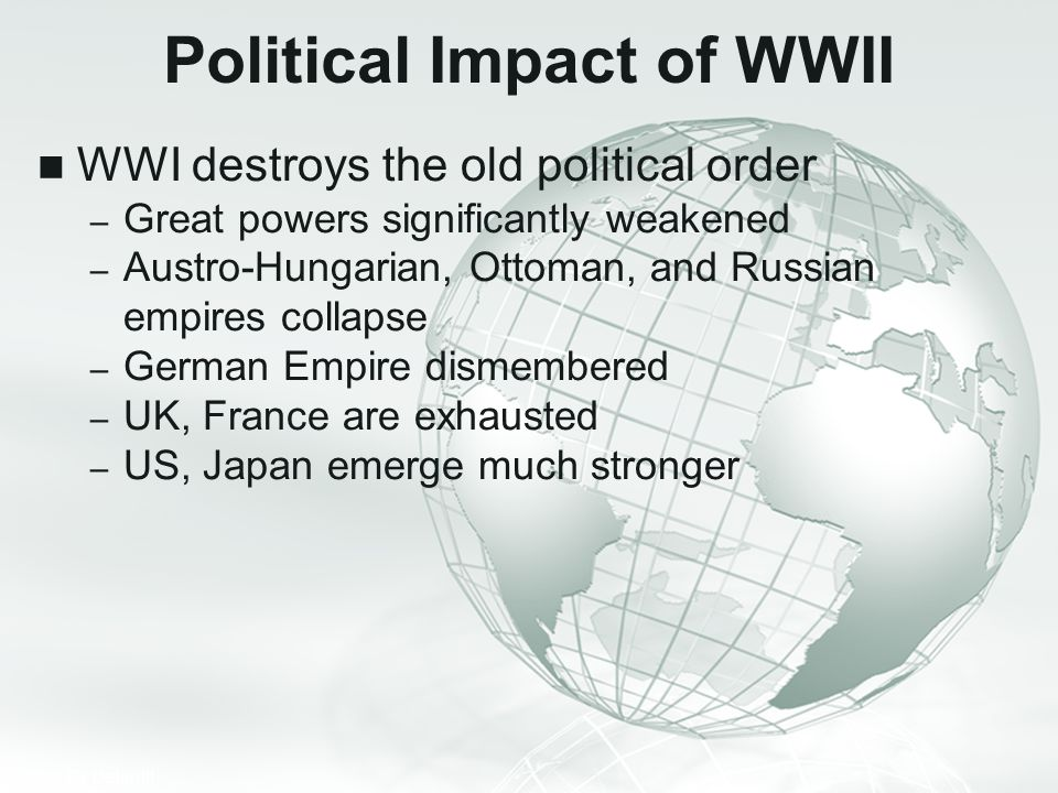 Political Impact of WWII