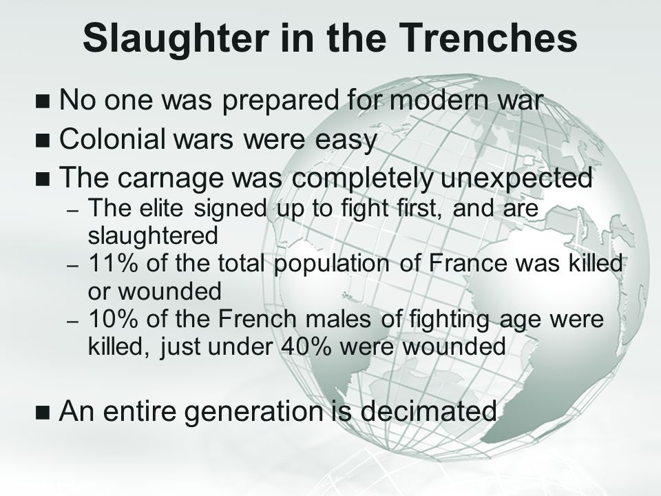 Slaughter in the Trenches