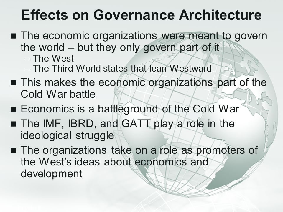 Effects on Governance Architecture