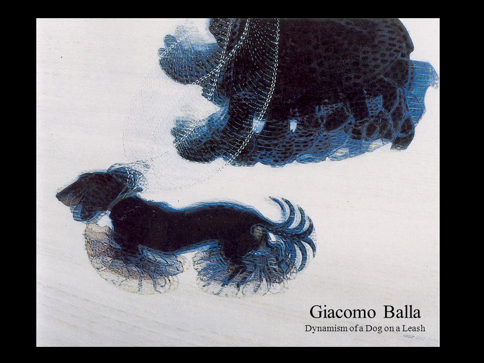 Giacomo Balla Dynamism of a Dog on a Leash