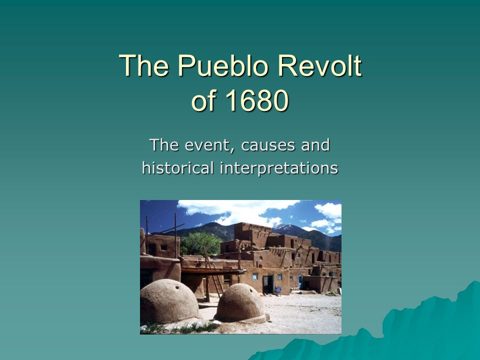 The event, causes and historical interpretations
