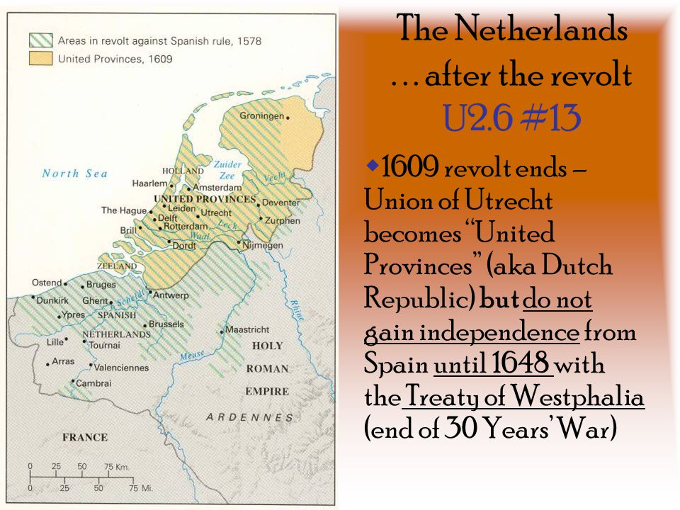 The Netherlands . . . after the revolt U2.6 #13