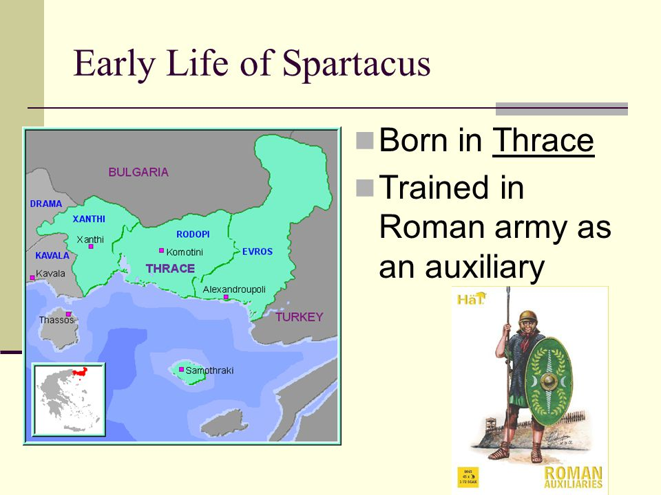 Early Life of Spartacus