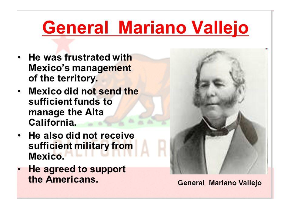 General Mariano Vallejo